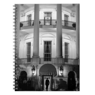 B&W White House 2 Notebook
