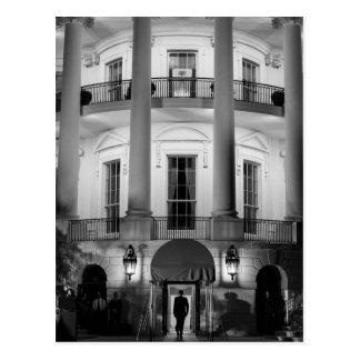 B&W White House 2 Postcard