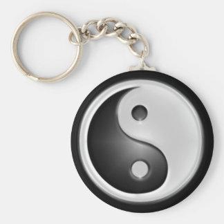 B&W Yin&Yang Keychains