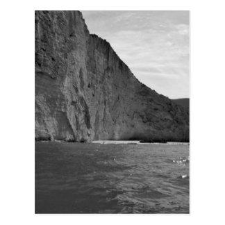B&W Zakynthos Island 4 Postcard