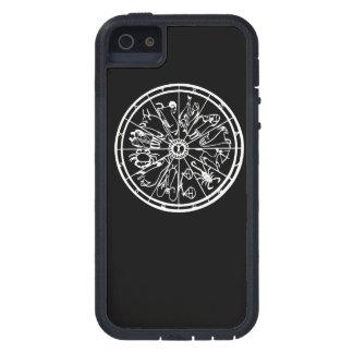 B&W Zodiac iPhone Case