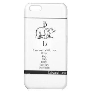B was once a little bear case for iPhone 5C