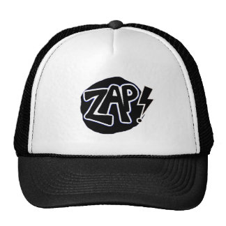 B&WZap Trucker Hat