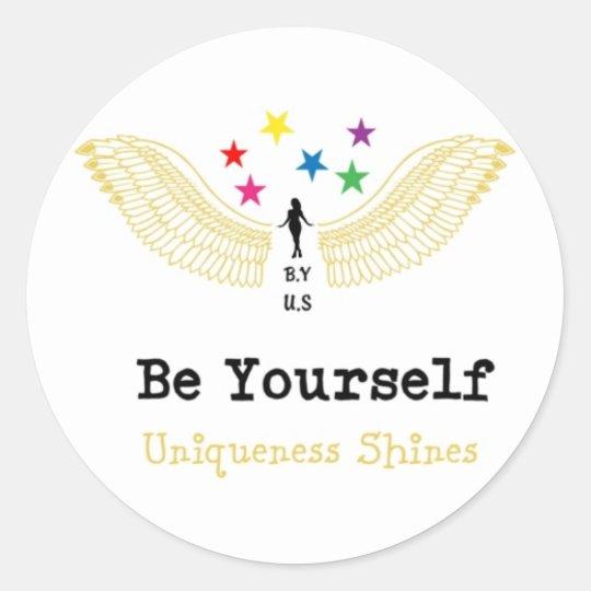 B.Y-U.S (Women) Classic Round Sticker