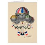 BA02298FAC01Z-Tribute to Balloonist Eugene Godard Card