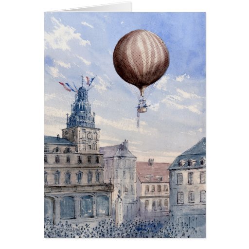 BA2303FAC01Z-Ascension Over Town Square Frameable  Card