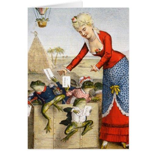 BA3G10461FAC02Z-Italian Frog News Scene 2 Art Card