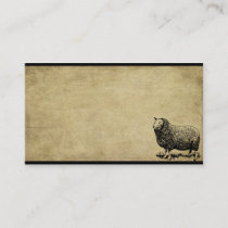 Ba Ba Black Sheep- Prim Biz Cards