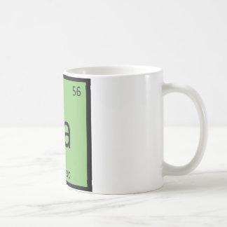 Ba - Bamboo Chemistry Periodic Table Symbol Coffee Mug