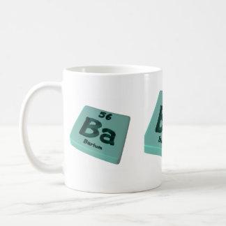 Ba] Barium Coffee Mug