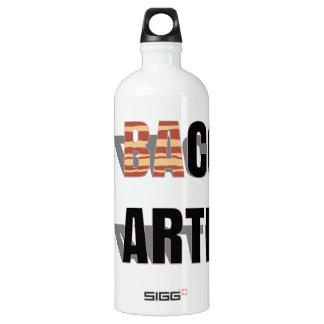 (Ba)Con Artist Aluminum Water Bottle
