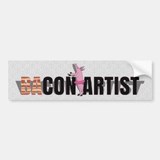 (Ba)Con Artist Car Bumper Sticker