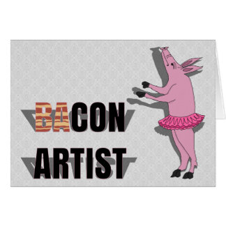 (Ba)Con Artist Card