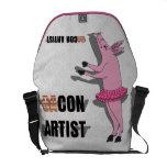 (Ba)Con Artist Messenger Bags