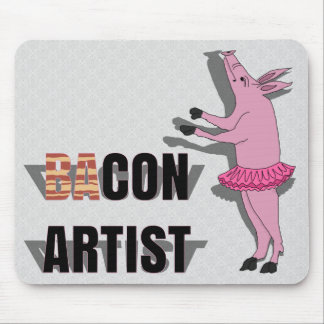 (Ba)Con Artist Mouse Pad