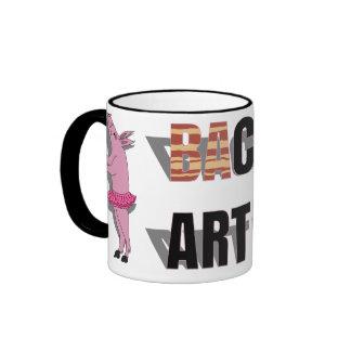 (Ba)Con Artist Ringer Mug
