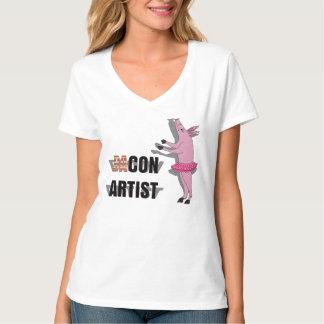 (Ba)Con Artist T-Shirt