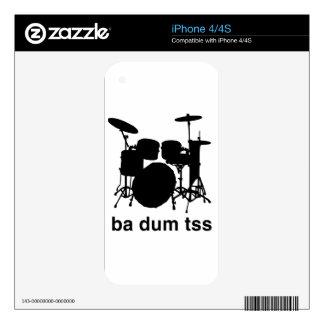 Ba Dum Tss iPhone 4 Skin
