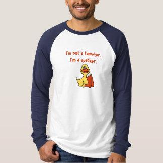 BA- Funny Cartoon Duck  Tweeter Shirt