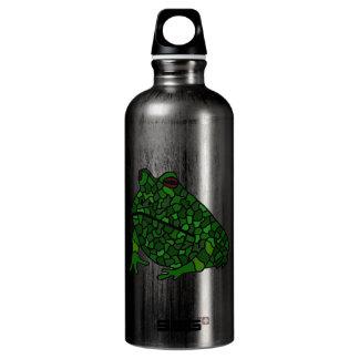 BA- Funny Funky Fog Art Aluminum Water Bottle