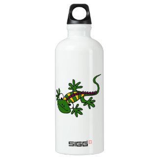 BA- Funny Iguana Aluminum Water Bottle