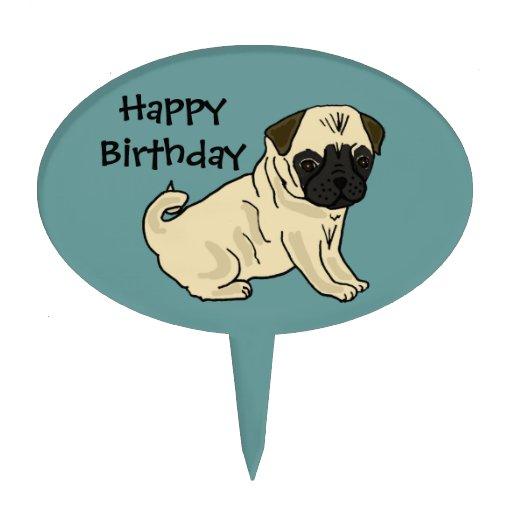 Birthday Cake Pug Rosie