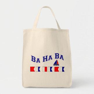 Ba Ha Ba, w/ Maritime Flags Tote Bag