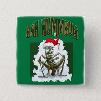 BA Humbug Grass hopper Pinback Button