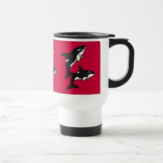 BA- Killer Whales Travel Mug