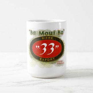 Ba Moui Ba Beer Classic White Coffee Mug