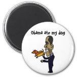 BA- Obama Ate My Dog Magnet