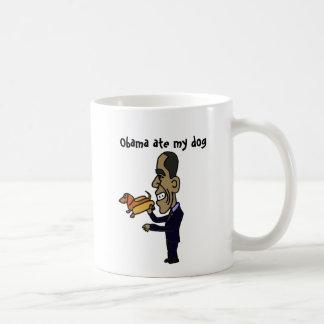 BA- Obama Ate My Dog Classic White Coffee Mug