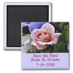 BA- Save the Date Rose Magnet