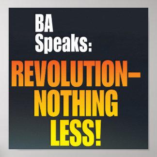BA Speaks poster