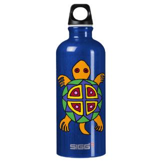 BA- Turtle Art Aluminum Water Bottle