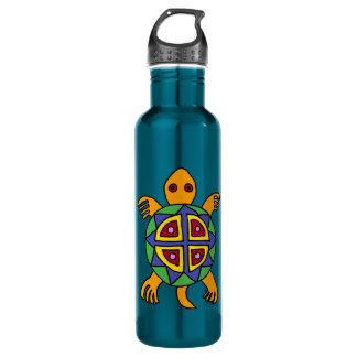 BA- Turtle Art Stainless Steel Water Bottle