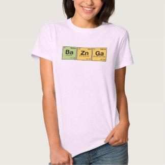 BA ZN GA! - periodic elements scramble Tee Shirt