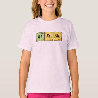 BA ZN GA! Periodic Elements Spelling fun T-Shirt