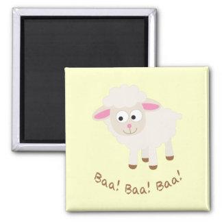 Baa! Baa! Baa! Cute Little Lamb Magnet