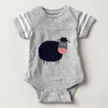 Baa Baa Black Sheep Baby Bodysuit
