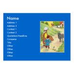 Baa, baa, black sheep, Have you any wool? Business Cards