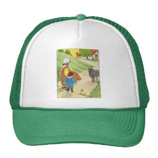 Baa, baa, black sheep, Have you any wool? Mesh Hats