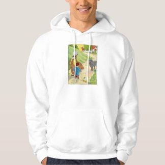 Baa, baa, black sheep, Have you any wool? Hooded Sweatshirts