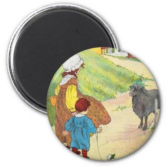 Baa, baa, black sheep, Have you any wool? Magnet