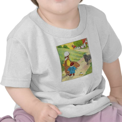 Baa, baa, black sheep, Have you any wool? Tee Shirt