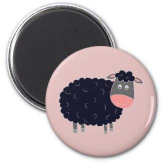Baa Baa Black Sheep Fridge Magnets