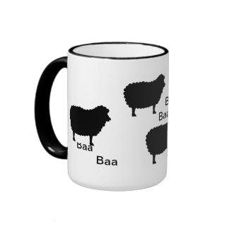 Baa Baa Black Sheep Coffee Mug