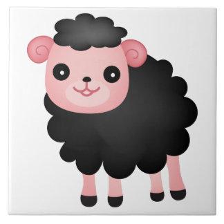 Baa Baa Black Sheep Tile
