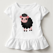 Baa Baa Black Sheep Toddler T-shirt