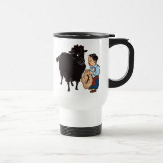 Baa Baa Black Sheep Travel Mug
